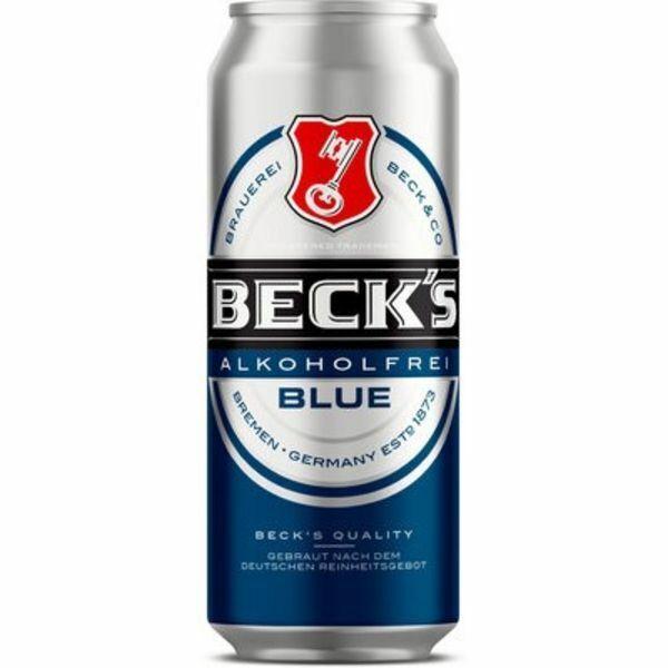 Beck's Blue 48 x 0,5 liter Dosen Alkoholfrei Bier 24 liter Beer Cerveza