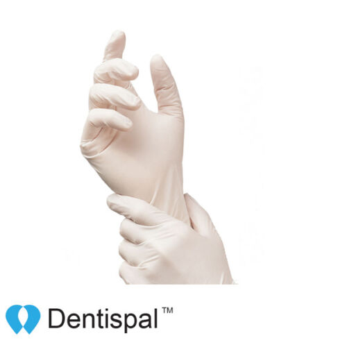 Latex Gloves Powder Free Strong for Dental Medical Tattoo XS S M L