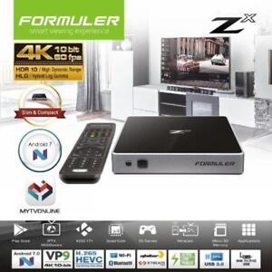 Formuler Zx UHD 4K Android 7 Media Streamer IPTV Receiver with WiFi