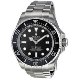 Rolex Sea Dweller Black Index Stainless Steel Mens Watch
