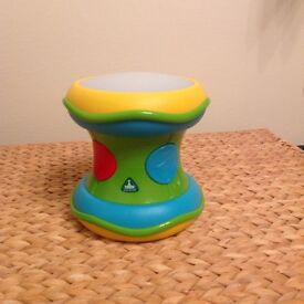 ELC musical drum rolling toy