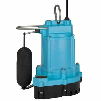 Little Giant 6ec-cia-sfs - 13 Hp Cast Iron Submersible Sump Pump W Vertical...