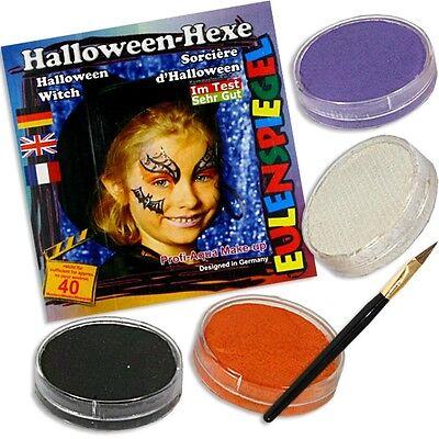 Hexenschminke, Hexengesichter schminken, Faschingsschminke für Hexe, Hexenparty