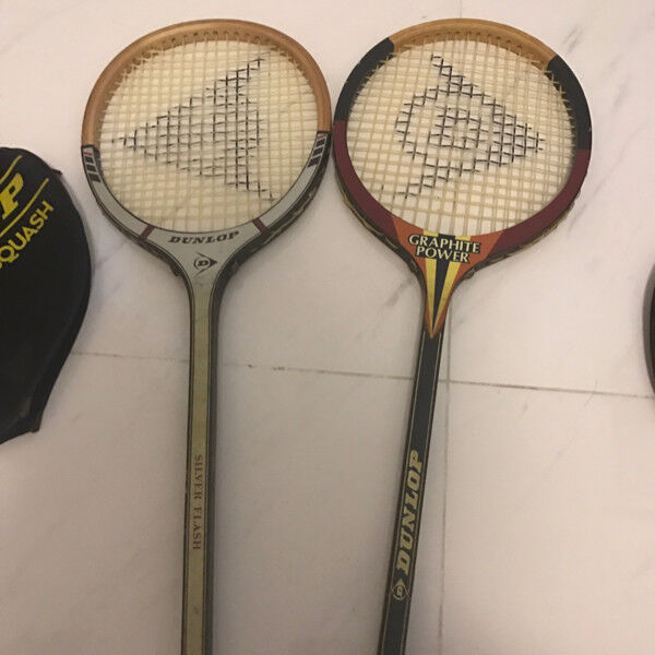Preloved Squash rackets selling only sgd10!