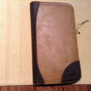 Mens Leather Passport Wallet- classy
