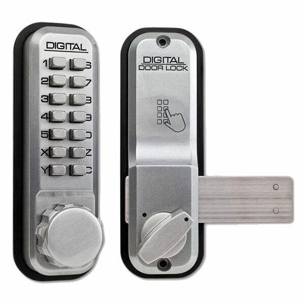 Lockey 2200 Mechanical Digital Lock SC (2200-SC)
