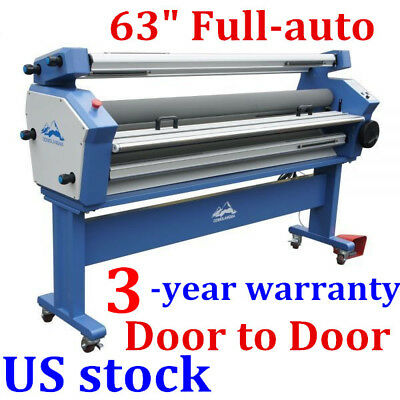 Usa Upgraded 63 Full-auto Cold Laminator Roll To Roll Wide Format Laminator