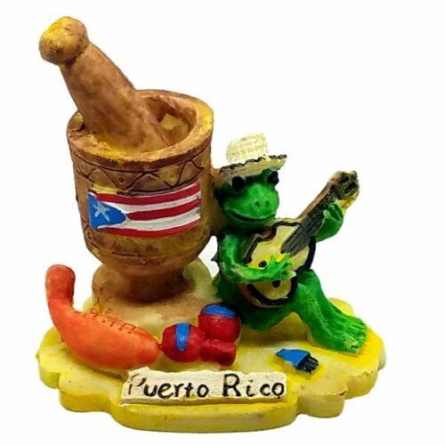 """Puerto Rico Coqui & Pilon Figures 2.5"""" Inches Figurine Rican PR Boricua"""