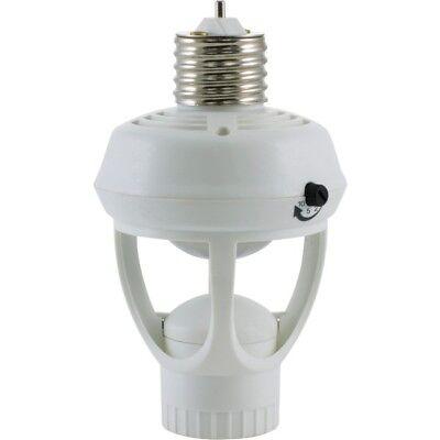 Motion Sensor Light Bulb Socket, 360 Degree LED, CFL, Incandescent Light Control