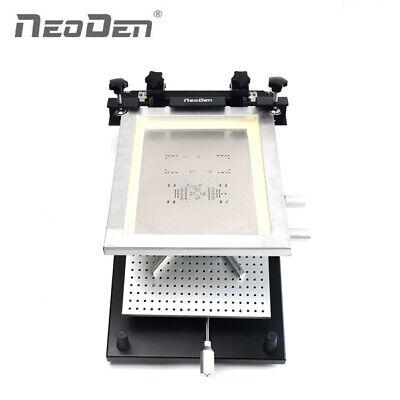 Frame Type Smt Screen Printer For 260360mm Pcb Assembly Line