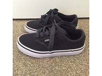 Boys Vans shoes, size 13, worn once