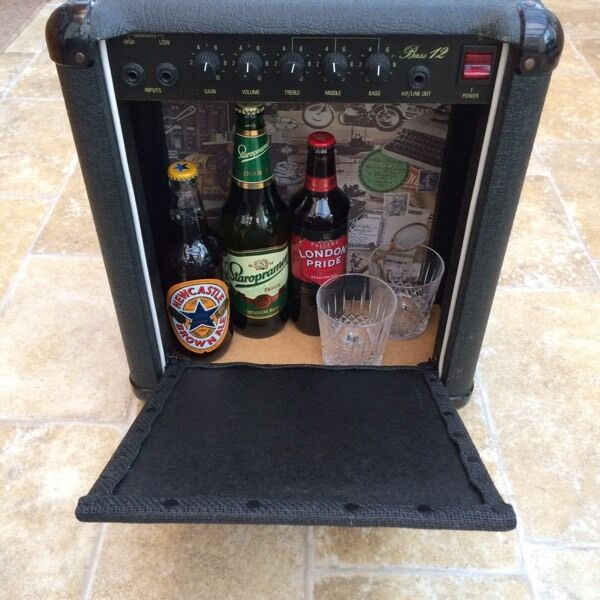bass guitar amplifier drinks cabinet in nottingham nottinghamshire gumtree. Black Bedroom Furniture Sets. Home Design Ideas