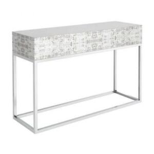 console table for foyer- cream console table (CA-24)