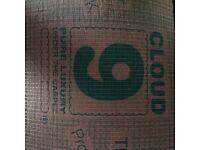 1 Roll of Cloud 9 Luxury carpet underlay