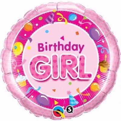 Hüte Streamers Kuchen Pink 45.7cm Party Folien Ballon (Geburtstag Kuchen Hüte)