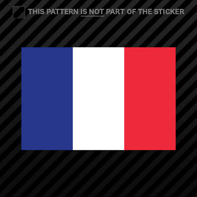 French Flag Sticker Self Adhesive Vinyl France ()