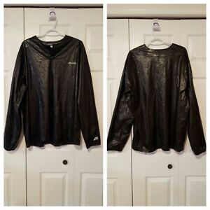 Mizuno Baseball Jacket Shiny Pullover, Vintage, Men's Size XL