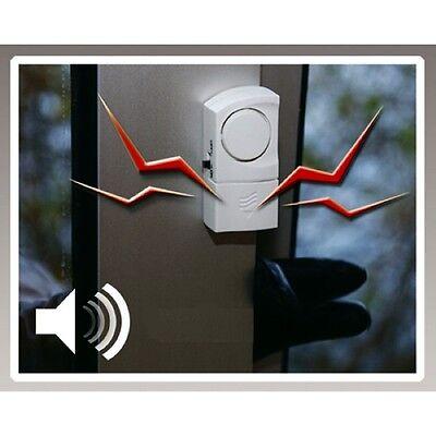 4 Stück Tür- & Fenster-Alarm Sicherheitstechnik Magnetsensor Sirene Alarmanlage