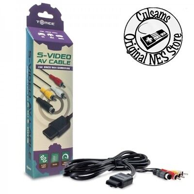 NEW S-Video Audio Video AV Cable for Nintendo GameCube/ N64/ Super SNES (Avs Cable S-video Cable)