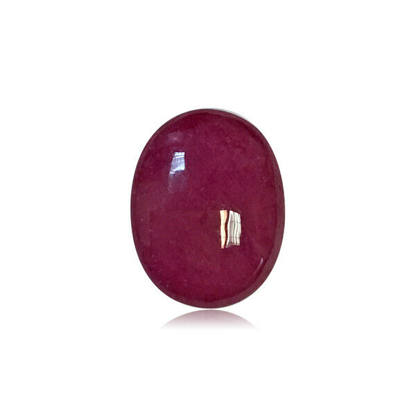 3.46-4.22 Cts of 10x8 mm AAA Oval Cabachon ( 1 pc ) Loose Ruby