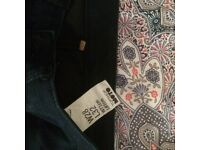 Topshop skinny jeans size 10/12