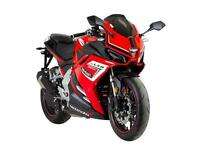 Brand New Lexmoto 380 A2 Licence 400 Sports Bike