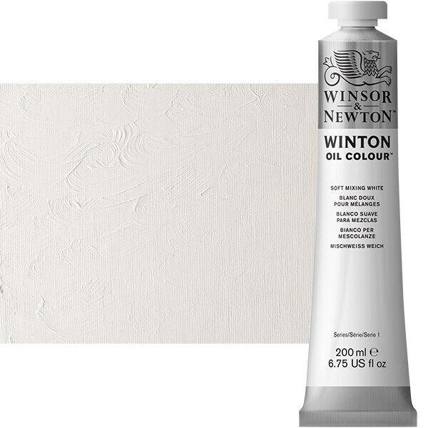 Winton Oil Color 200 ml Tube - Soft Mixing White