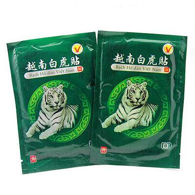 16pcs Vietnam White Tiger Balm Pain Relief Rheumatoid Arthritis Lumbar Plaster