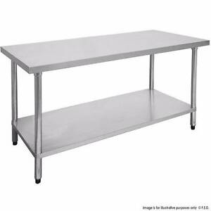 Commercial 1500-7-WB Economic 304 Grade Stainless Steel Table 150 Sydney City Inner Sydney Preview