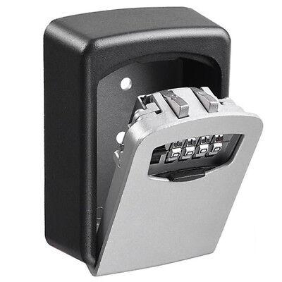 Key Lock Box Wall Mount Key Storage Safe Realtor Real Estate Lock Box 4 Digital
