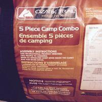 Ensemble 5 pieces de Camping