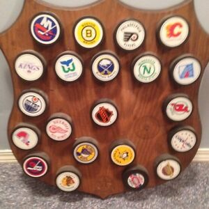 NHL rare puck collection