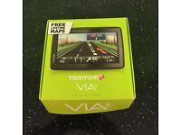 TomTom Via 135 lifetime Europe maps and Bluetooth - used once