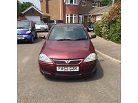 Vauxhall Corsa 1.4l automatic 2003 19,000 miles