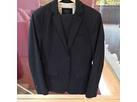 All saints Black casual suit