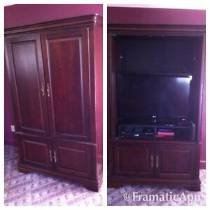 AUDIO AND VIDEO MEDIA CABINET