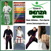 BENZA KARATE GI ON SALE STARTING AT $29.99 + FREE SHIPPING!!