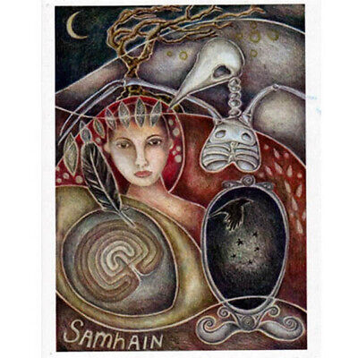 STIVAL GREETING CARD 31st Oct PAGAN Wiccan JAINE ROSE  (Halloween Pagan Festival)