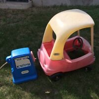 Little Tikes Cozy Coupe Car and Gas Pump