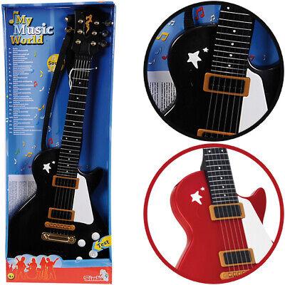 Simba My Music World Rockgitarre (Sortiert) Gitarre Kindergitarre Spielzeug NEU