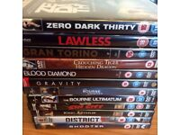 12 dvds £5.00!