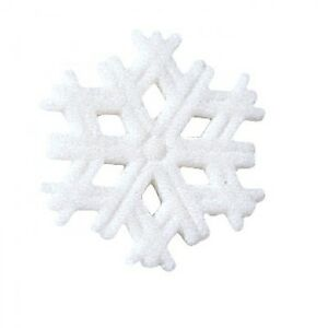 Sugar-Decorations-Cookie-Cake-Cupcake-Winter-Christmas-SNOWFLAKE-12-ct