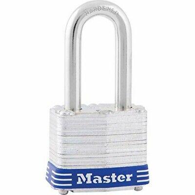 """Master Lock 3DLF 1-1/2"""" No. 3 Long Shackle Laminated Padlock"""