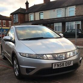 Honda Civic 2.2i-CTDi SE 2008/58 One Owner 6 Speed Full leather!!!!!