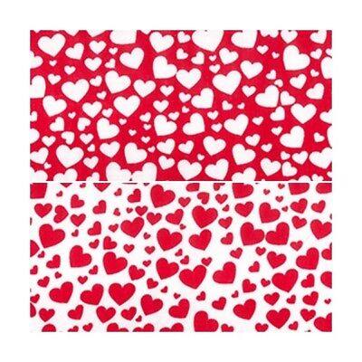 Polycotton Fabric Hearts Love Valentines Day Heart - Valentines Day Hearts