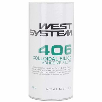 West Systems Boat Marine Colloidal Silica 1.5Oz Thickening Additive 406-2 4062