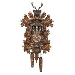 Hermle SCHWARZWALD Quartz Cuckoo Clock #65000 by Trenkle Uhren, 28% off MSRP