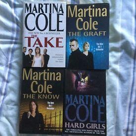 Martina Cole Crime Novels x 4