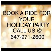 LOOKING FOR LIMOUSINE SERVICES FOR HOLIDAY PARTIES?