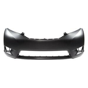 2011 2012 2013 2014 2015 2016 2017 TOYOTA SIENNA FRONT BUMPER - TO1000367 - 5211908903